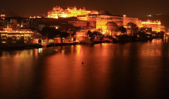 Amber fort light show