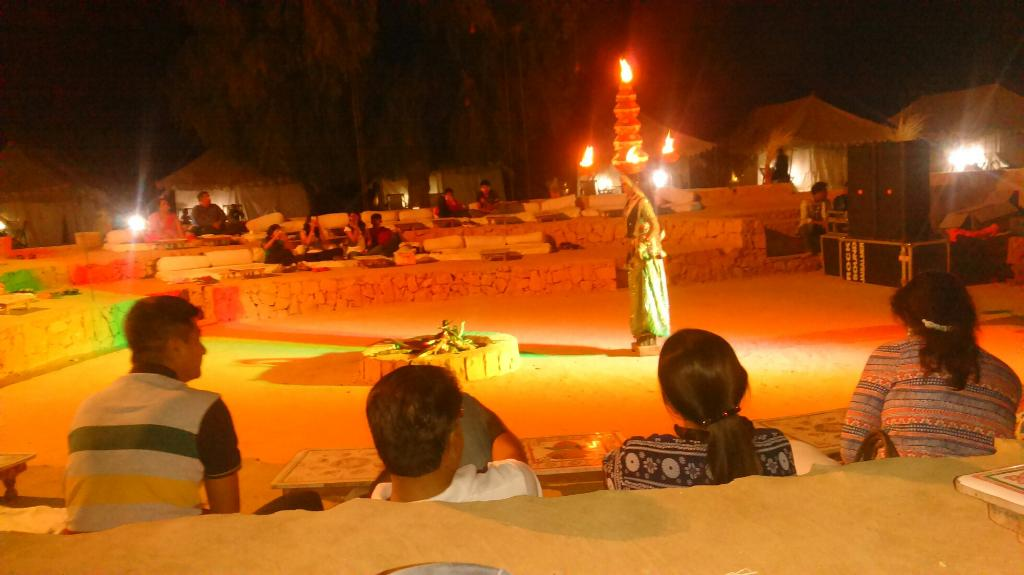 Camping in Jaisalmer